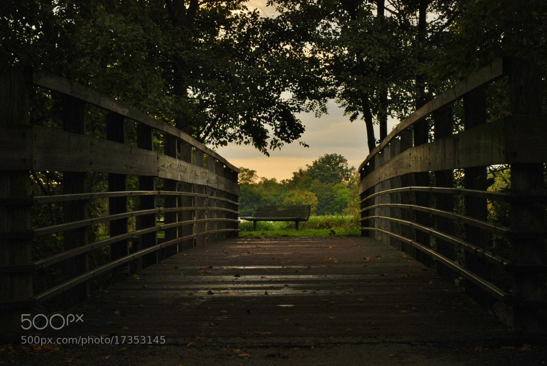 Photograph Bridge at Gallup Park by John Mullinax on 500px
