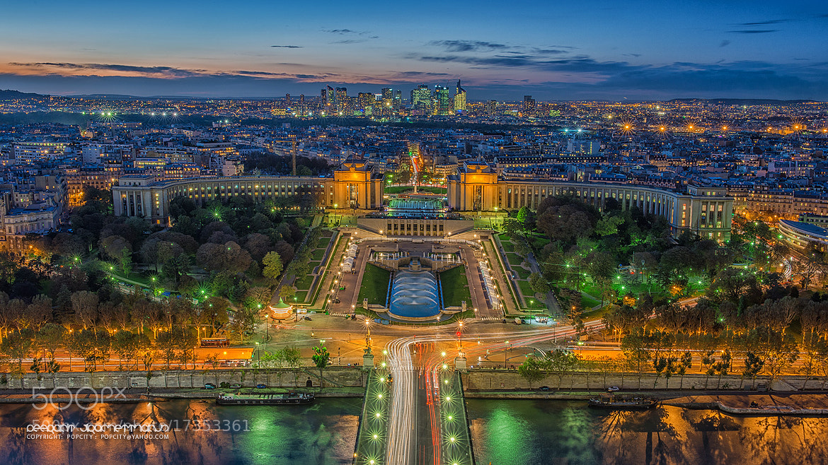 Photograph Paris City at Night by Peerakit Jirachetthakun 5392 on 500px
