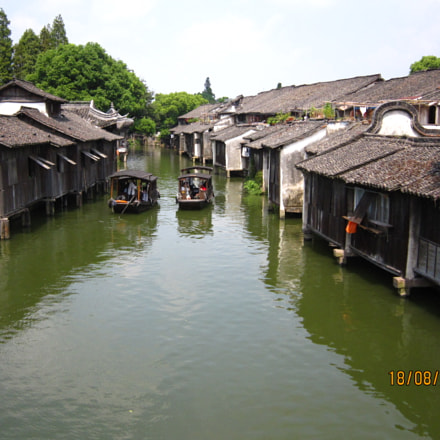 Wuzhen Water Town, Canon DIGITAL IXUS 200 IS