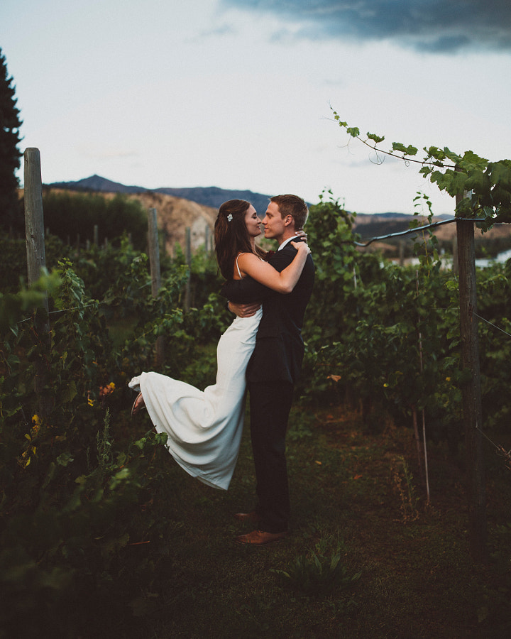 the rain stopped just in time for Taylor and Lindsay to walk around the vineyards as newlyweds. by Berty Mandagie on 500px.com
