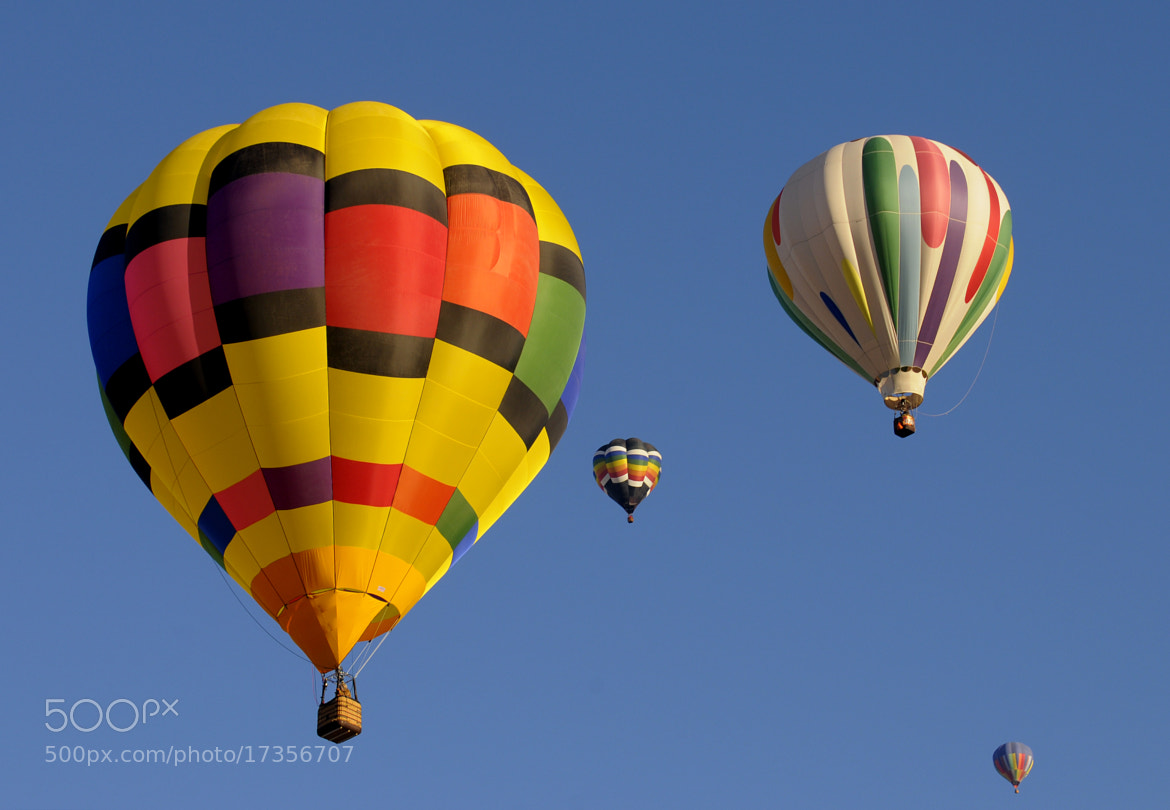 Photograph Albuquerque Balloon Fest 2012 by Glen Wattman on 500px