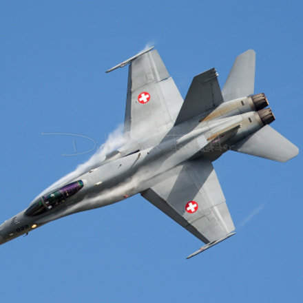 Swiss Air Force F, Canon EOS 20D, Canon EF100-400mm f/4.5-5.6L IS USM
