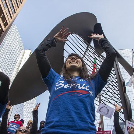 Dancing for Bernie Sanders
