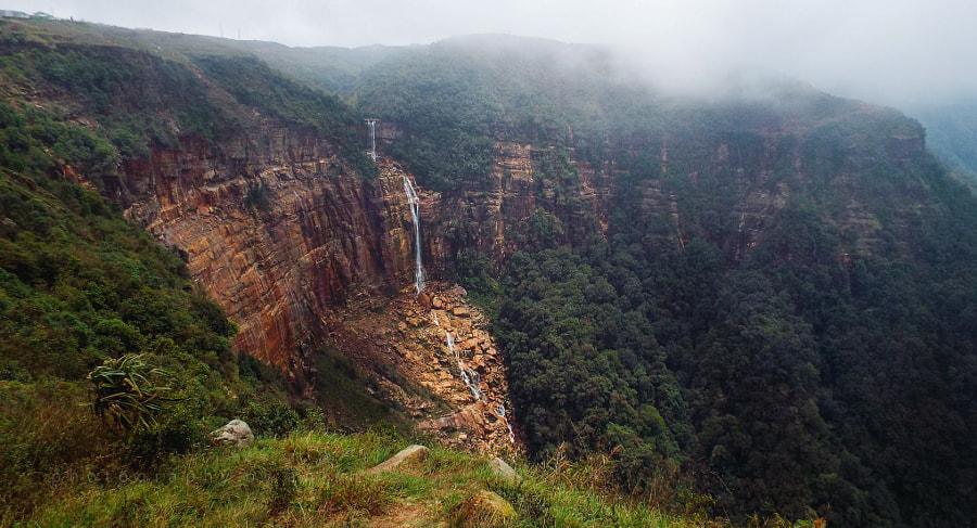 Wah Kaba Falls Cherrapunji