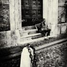 homeless guy in trastevere, rome
