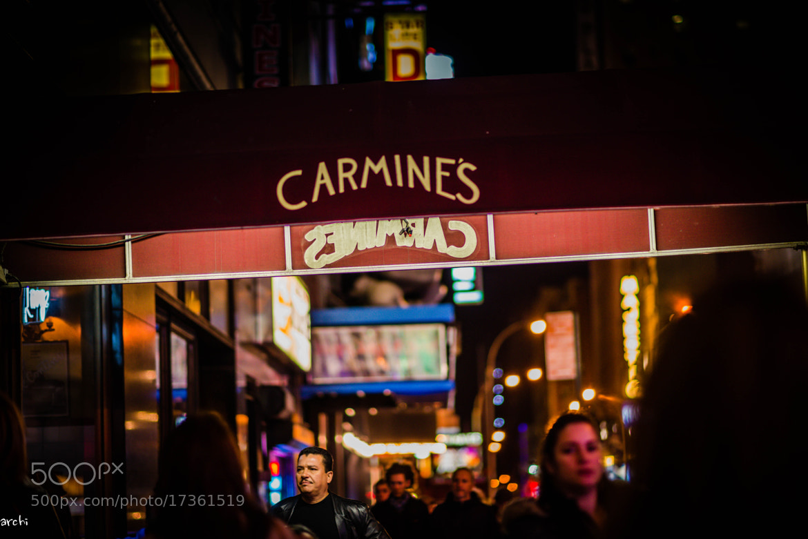 Photograph Carmines Restaurant - NYC by Archana Patchirajan on 500px