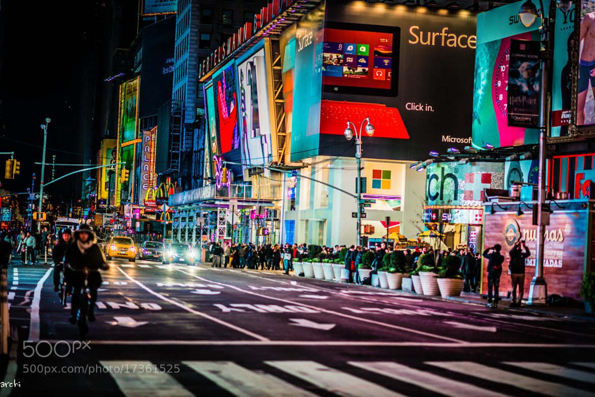 Photograph Times Square by Archana Patchirajan on 500px