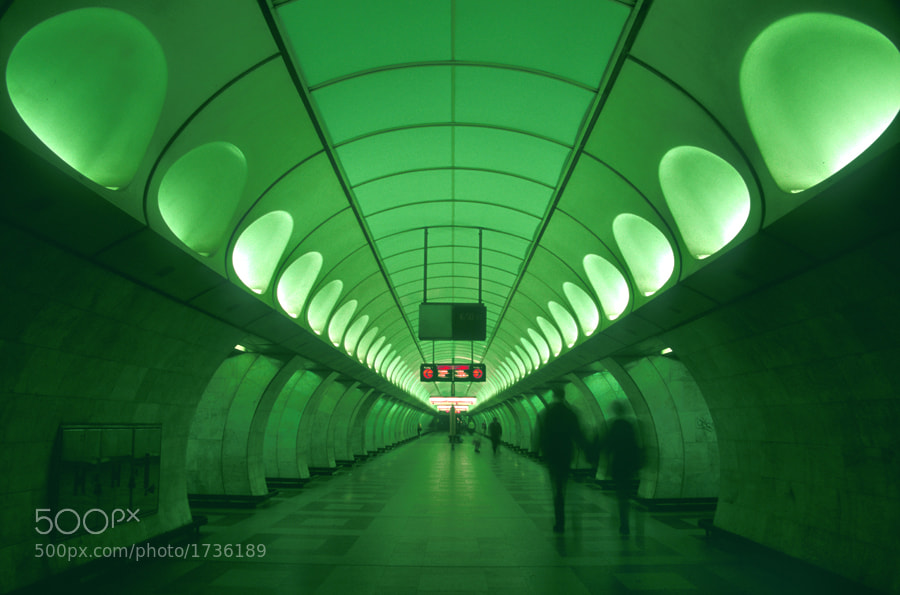 Photograph Anděl Metro Station by Jack Culbertson on 500px