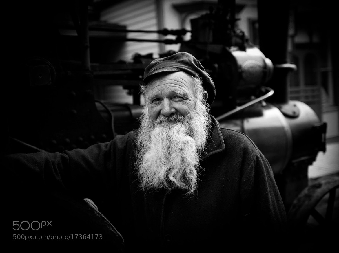 Photograph Steam Locomotive Operator by Ockert Le Roux on 500px