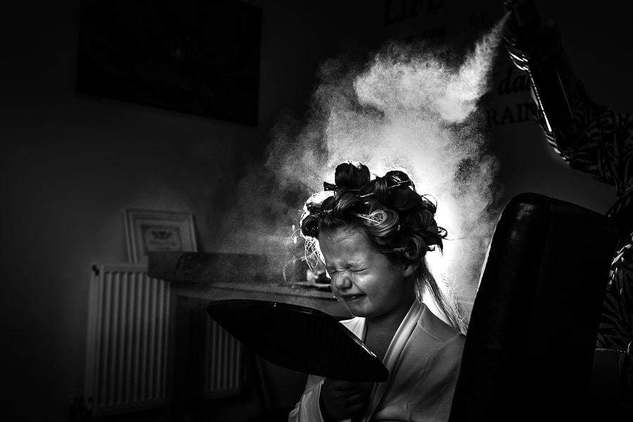 Hairspray Fun by Dominic Lemoine Photography