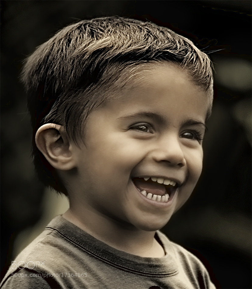 Photograph La sonrisa de Adria / Adria's smile by Francisco García Ramírez on 500px