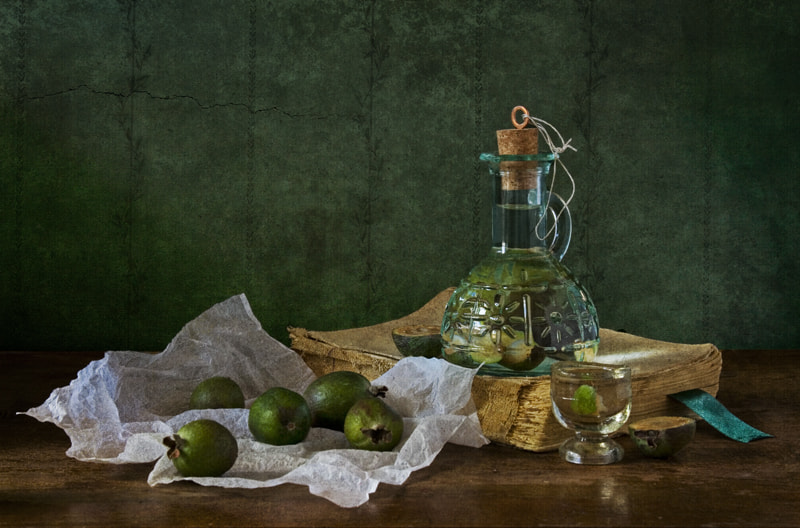 Photograph tincture of feijoa (2008) by Yulia Pletinka on 500px