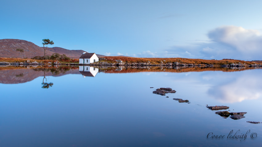 Photograph The fishing hut by conor ledwith on 500px