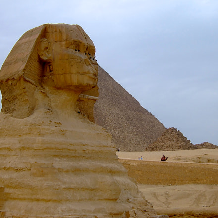 GREAT SPHINX OF GIZA, Fujifilm FinePix F20