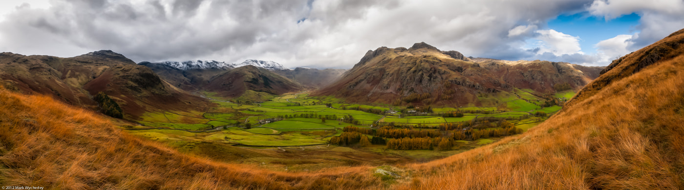 Photograph Great Langdale (pano) by Mark Wycherley on 500px