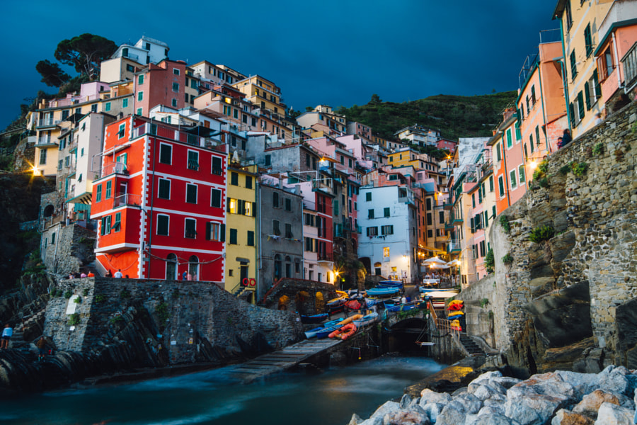 Riomaggiore by David Delgado on 500px.com