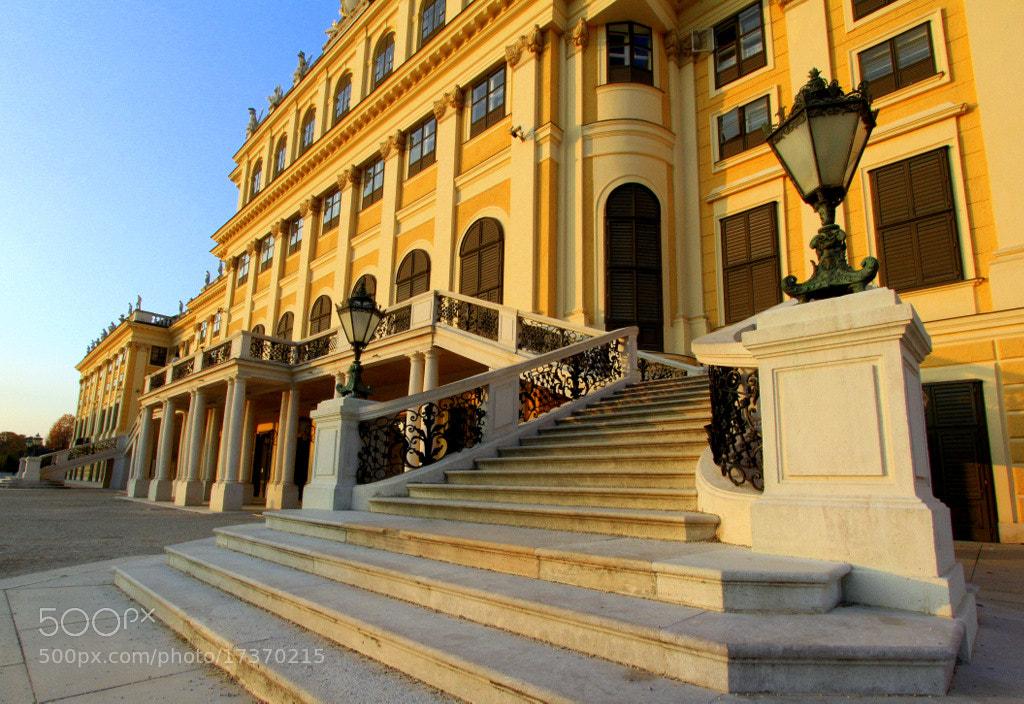 Photograph Schönbrunn Palace by Rainer Leiss on 500px