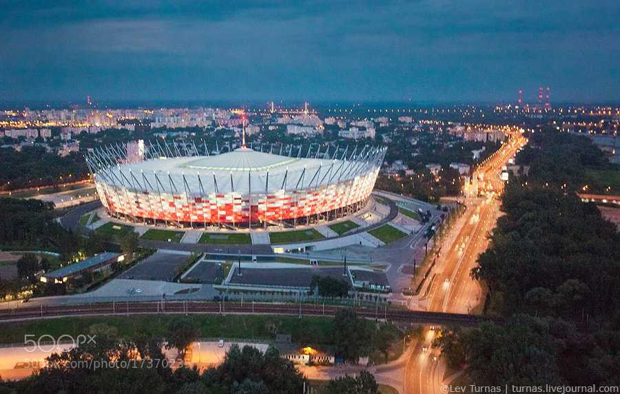 Photograph Stadion Narodowy by Lev Turnas on 500px