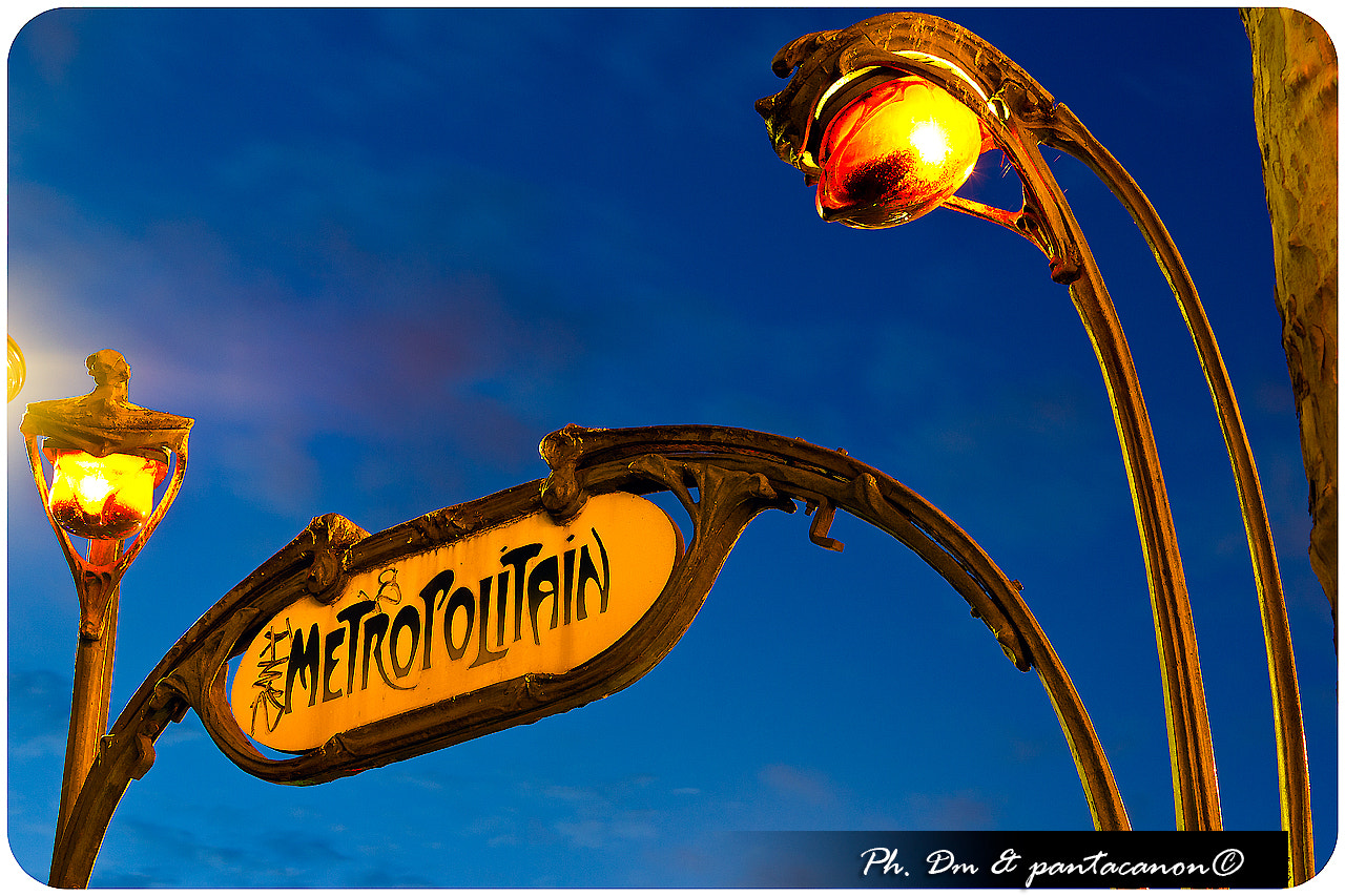 Photograph Métropolitain Paris by Alessio La Spada on 500px