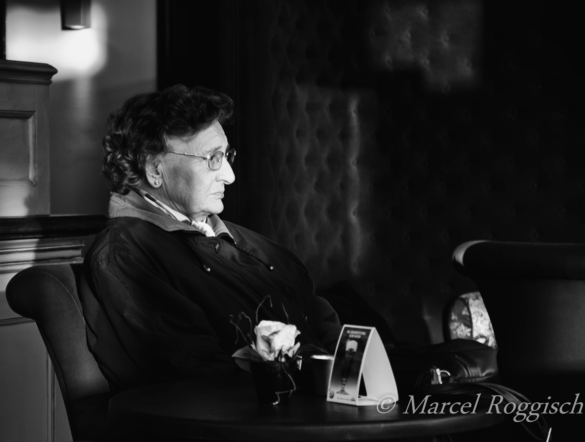 Photograph The Old Lady in the Chair by Marcel  Roggisch on 500px