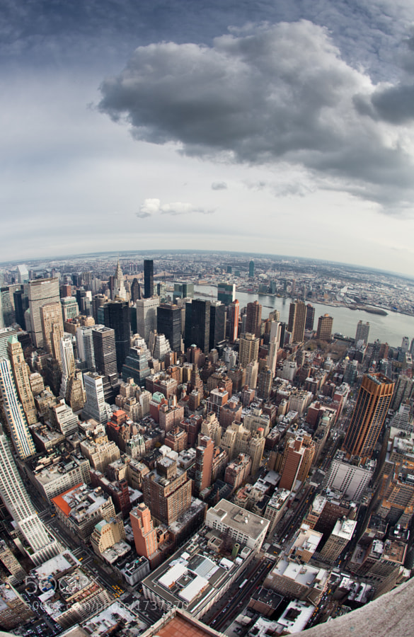 From the 86th floor of the Empire State Building