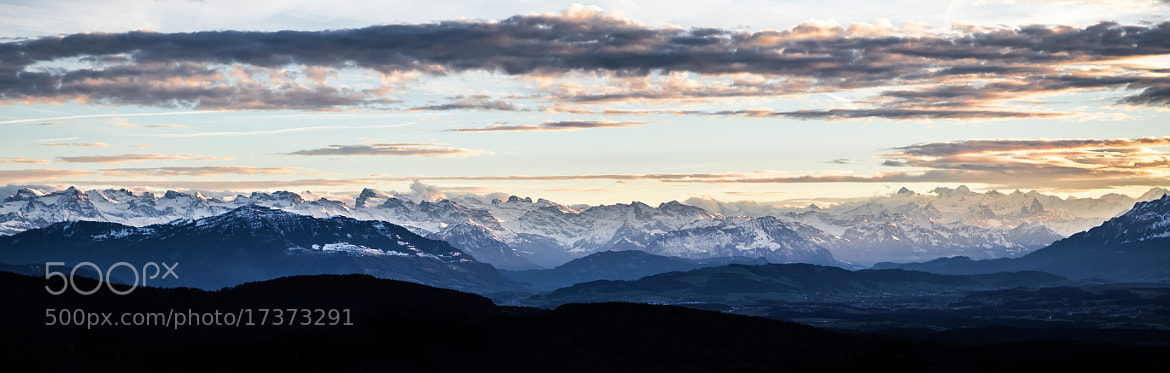 Photograph alps II by Daniel Wewerka on 500px