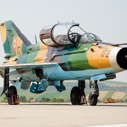Romanian Air Force MiG-21, Canon EOS 20D, Canon EF-S 17-85mm f/4-5.6 IS USM