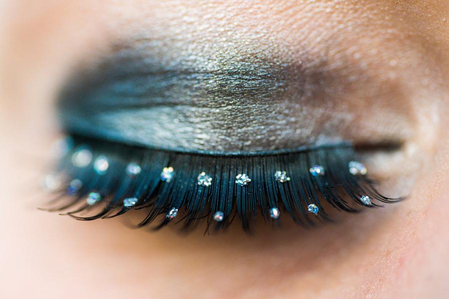 Jeweled Eyelashes