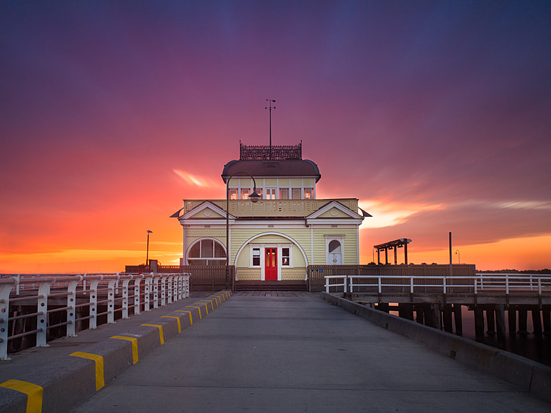 Photograph St Kilda Pier by Alex Wise on 500px