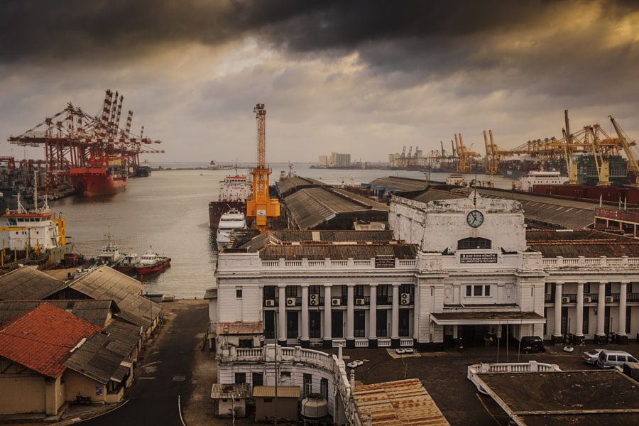 Colombo Port in the Morning by Son of the Morning Light on 500px.com
