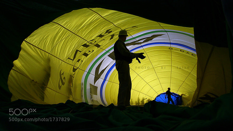 Photograph Inside Balloon  by Tasan Phatthong on 500px