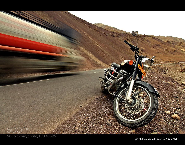 Photograph RE Bullet in Ladak by Dhritiman Lahiri on 500px