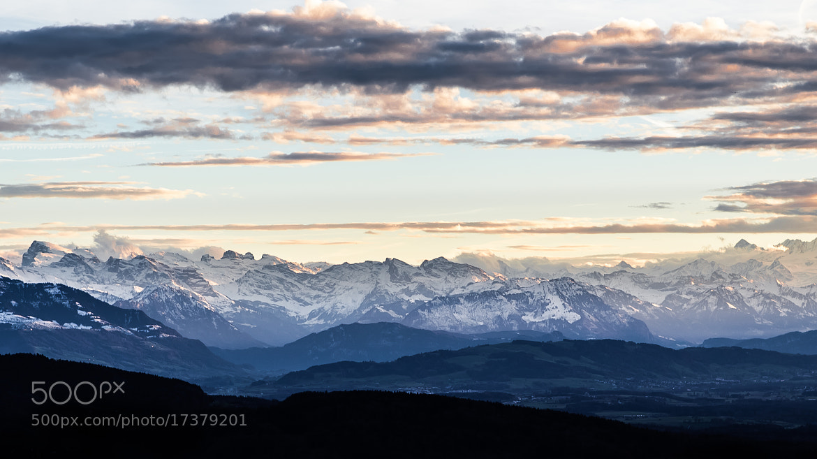 Photograph alps III by Daniel Wewerka on 500px