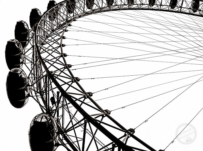 Photograph London Eye by Gordonk -Photography on 500px