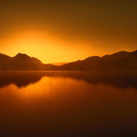 sunrise Fuschlsee