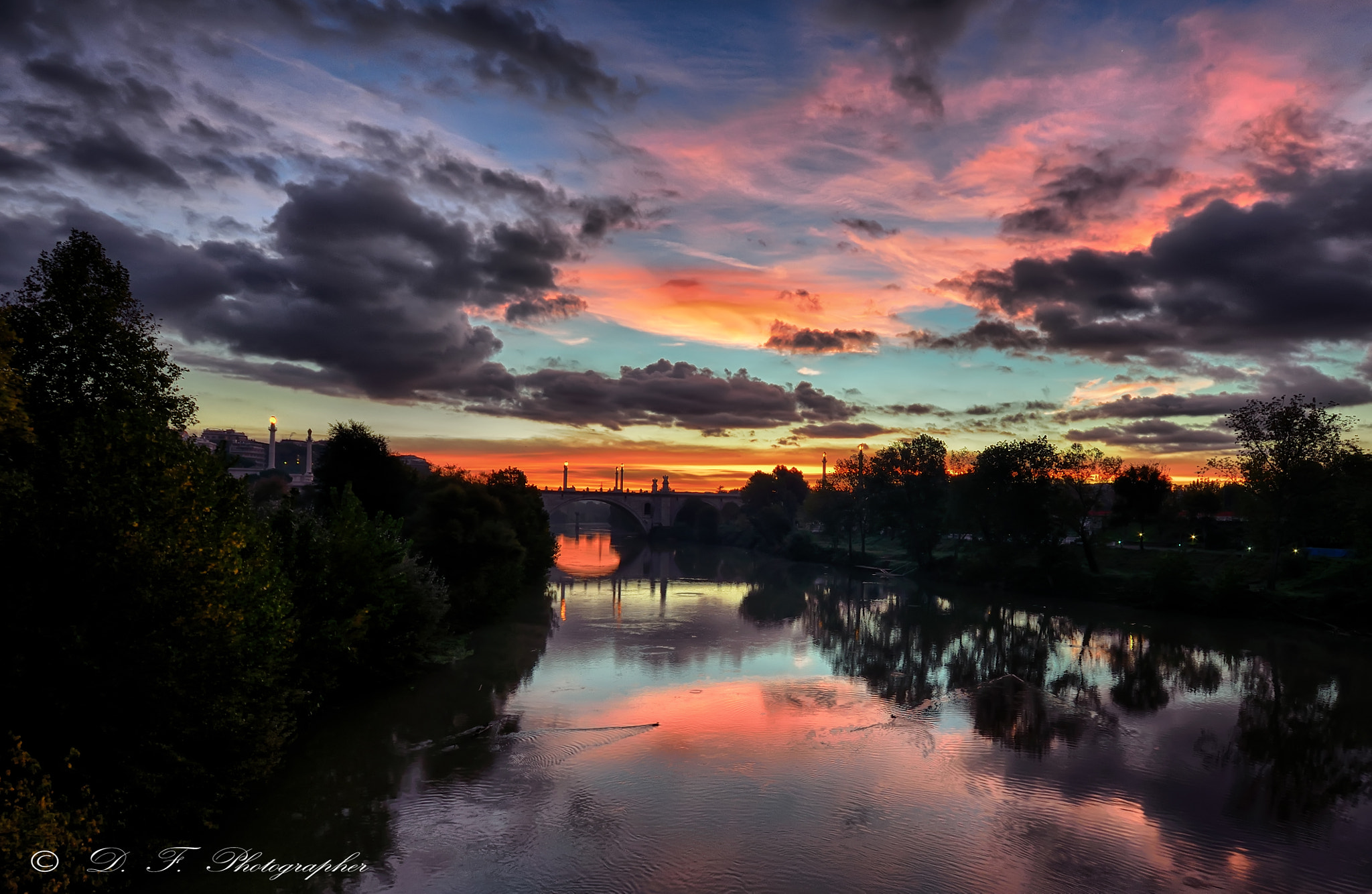 Photograph Sunrise of fire by Daniele Forestiere on 500px