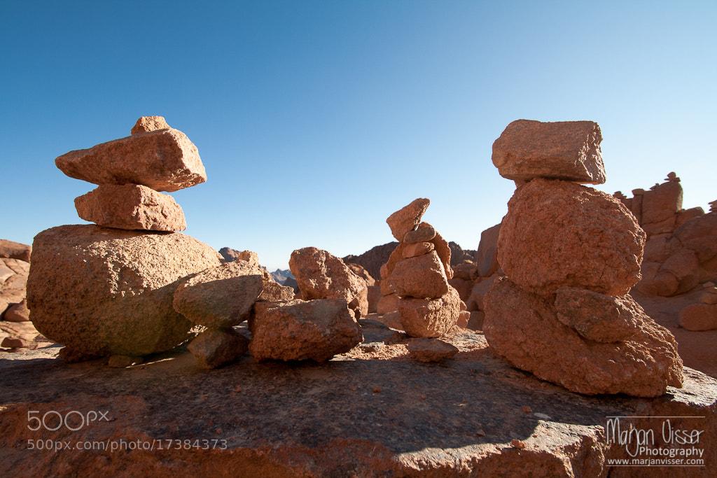 Photograph Trekking down Mount Sinai, Egypt by Marjan  Visser on 500px