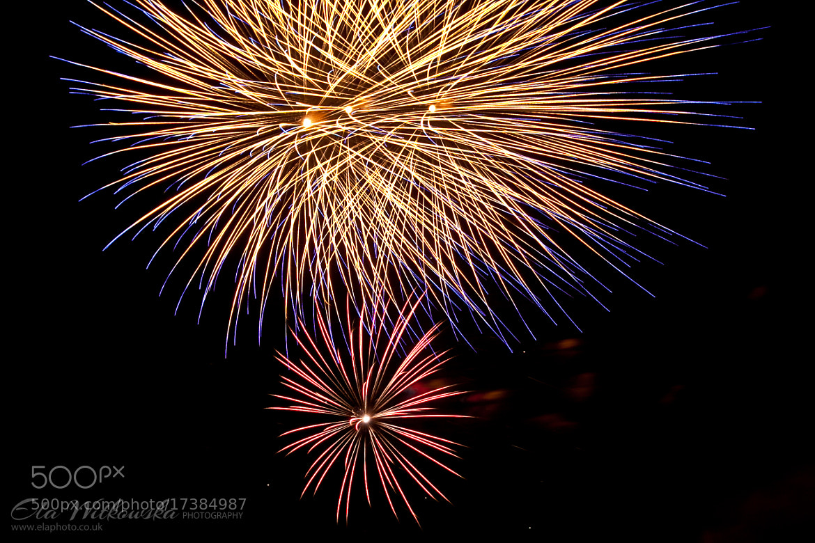 Photograph Fireworks by Ela Witkowska on 500px