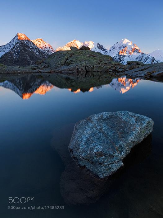 Photograph Bernina Alpenglow by Tobias Richter on 500px