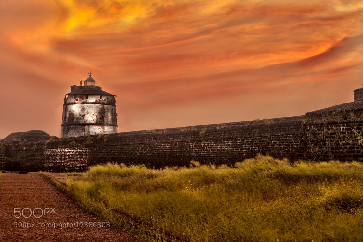 Photograph Sunset Fort Aguada by Satheesh Nair on 500px