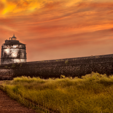 Sunset Fort Aguada