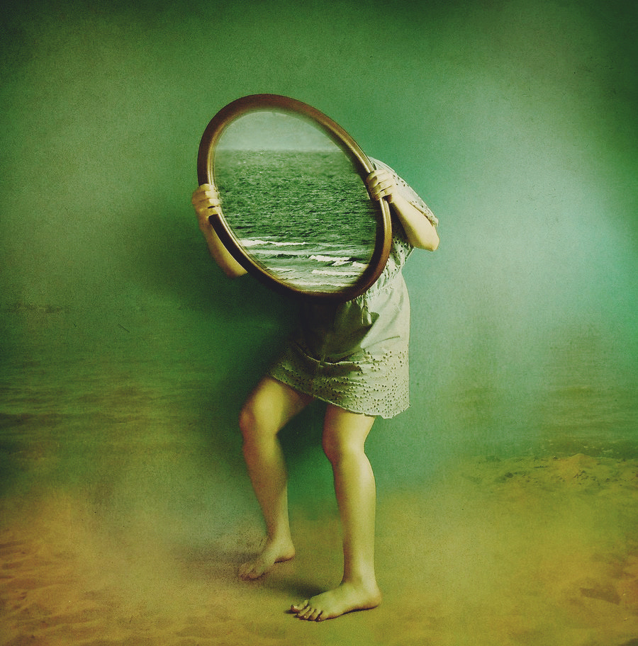 Photograph the sea mirror by Victoria Audouard on 500px