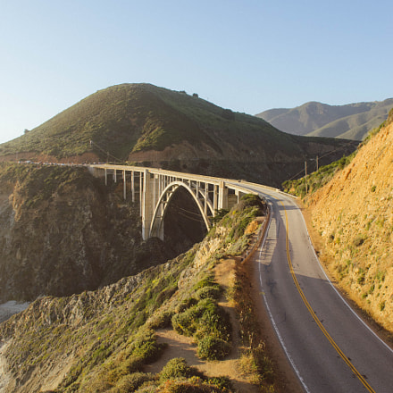 Bixby Bridge, Sony ILCE-7, Sigma 24mm F1.8 EX DG ASP Macro