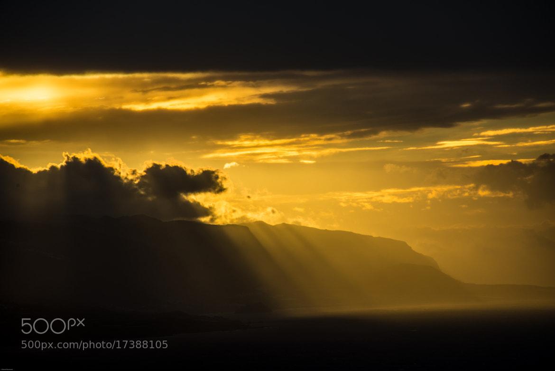 Photograph Sundown Tenerife by Bernd Neumann on 500px