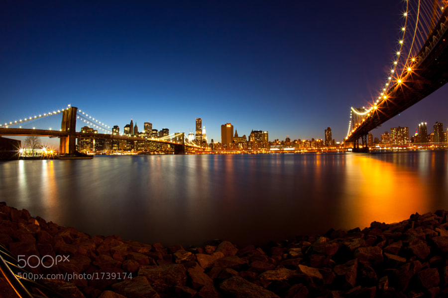New York City from DUMBO