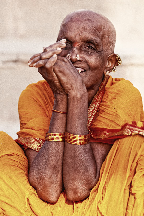 Photograph Old woman from Tamil Nadu by Mikhail Panfilov on 500px