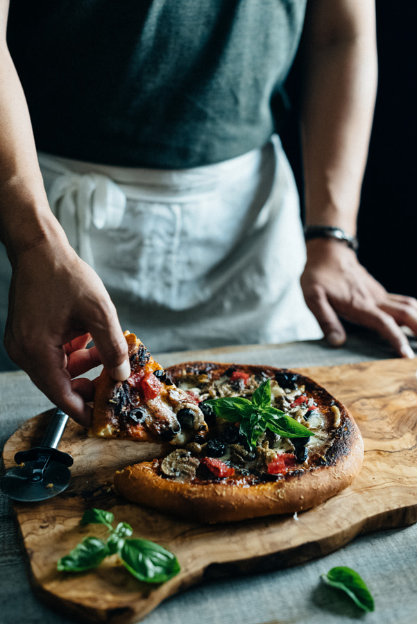 Pizza capricciosa by Hidekazu Makiyama on 500px.com