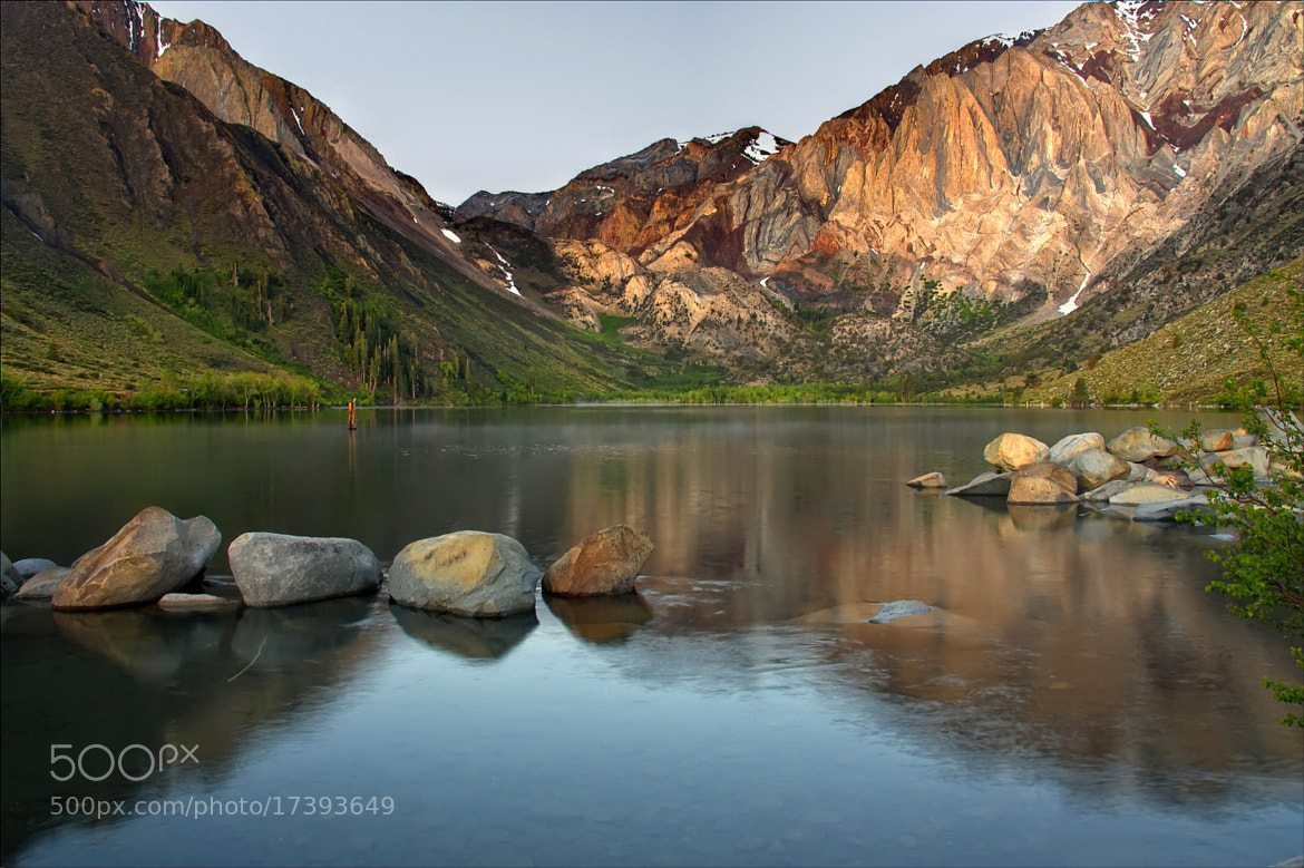 Photograph Convict Lake by Marianne Bush on 500px