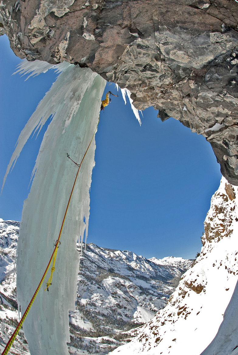 Photograph ice climbing by alain denis on 500px