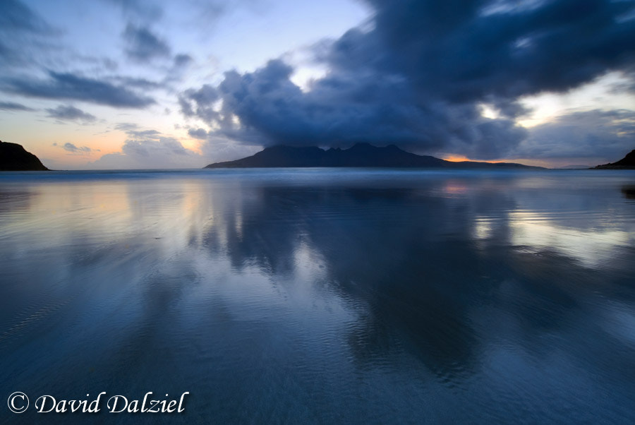 Photograph Laig Bay Reflections by David Dalziel on 500px
